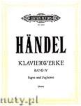 Ok�adka: H�ndel George Friedrich, Klavierwerke, Band 4