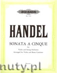 Okładka: Händel George Friedrich, Sonata a cinque