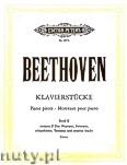 Okładka: Beethoven Ludwig van, Album of Piano Pieces, Vol. 2