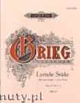 Ok�adka: Grieg Edward, Lyric Pieces Op. 57 No. 1 - 3 for Piano, Book 6