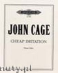 Ok�adka: Cage John, Cheap Imitation for Piano