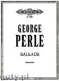 Ok�adka: Perle George, Ballade