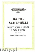 Ok�adka: Bach Johann Sebastian, 69 Sacred Songs and Arias for Voice and Piano