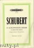 Ok�adka: Schubert Franz, 30 Songs (Low Voice-Pf)