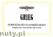 Okładka: Grieg Edward, Norwegian Notebook for Piano
