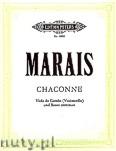 Okładka: Marais Marin, Chaconne