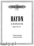 Okładka: Haydn Franz Joseph, 6 Trio Sonatas Op. 8, Vol. 2