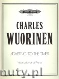 Ok�adka: Wuorinen Charles, Adapting to the Times for Violoncello and Piano
