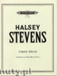 Ok�adka: Stevens Halsey, Three Pieces (Bsn-Pf)