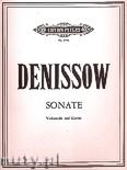 Okładka: Denissow Edison, Sonate für Violoncello und Klavier