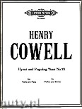 Okładka: Cowell Henry, Hymn and Fuguing Tune No. 16 for Violin and Piano