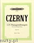 Ok�adka: Czerny Carl, 125 Exercises for Passage Playing for Piano, Op. 261