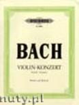 Ok�adka: Bach Johann Sebastian, Konzert f�r Violine In G BWV 1056