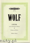 Okładka: Wolf Hugo, Songs to Texts by Various Poets for Voice and Piano, Vol. 2