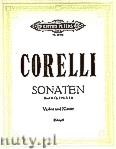 Ok�adka: Corelli Arcangelo, Sonatas for Violin and Piano, Op. 5, No. 3, 5, 9, Vol. 2