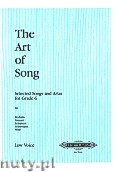 Ok�adka: , The Art of Song: Selected Songs set on thecurrent Associated Board exam syllabus Grade 6 (Low voice-Pf)