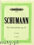 Ok�adka: Schumann Robert, Vier Klavierst�cke op. 32