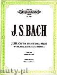 Okładka: Bach Johann Sebastian, Jesu, Joy of Man's Desiring from Cantata BWV 147 for Violine and Piano