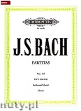 Ok�adka: Bach Johann Sebastian, Partitas BWV 825-830 Vol.2 (Pf)
