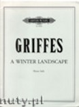 Okładka: Griffes Charles T., A Winter Landscape for Piano