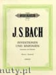 Ok�adka: Bach Johann Sebastian, Inventions & Sinfonias (2 & 3-partInventions) BWV 772-801 (Pf)