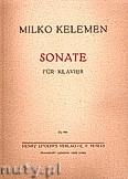 Okładka: Kelemen Milko, Sonate für Klavier