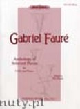 Okładka: Fauré Gabriel, Anthology of Selected Pieces for Violoncello and Piano
