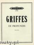 Okładka: Griffes Charles T., De Profundis