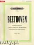 Okładka: Beethoven Ludwig van, Sonatinen und leichte Sonaten