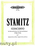 Ok�adka: Stamitz Carl, Concerto in D Op. 1 for Viola and Orchestra (Edition for Viola and Piano)