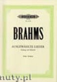 Ok�adka: Brahms Johannes, 30 Selected Songs for High Voice and Piano