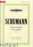 Okładka: Schumann Robert, Frauenliebe und Leben op. 42 für Singstimme und Klavier (Ausgabe in Originaltonarten)