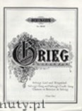 Ok�adka: Grieg Edward, Solveig's Song Op. 23 No. 4 and Solveig's Cradle Song (Piano)