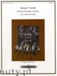 Ok�adka: H�ndel George Friedrich, Arrival of the Queen of Sheba (2Vln-Pf)