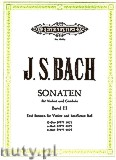 Okładka: Bach Johann Sebastian, Sonatas for Violine and Harpsichord, BWV 1021, 1023, 1024, Vol. 3