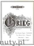 Okładka: Grieg Edward, Zwei braune Augen, Geschieden