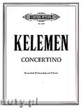 Okładka: Kelemen Milko, Concertino (Pf-Db(Vc))