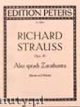 Ok�adka: Strauss Ryszard, Also sprach Zarathustra, Op. 30