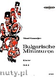 Okładka: Kasandjiev Wassil, Bulgarian Miniatures for Piano, Volume 2