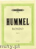 Ok�adka: Hummel Bertold, Rondo, Op. 11