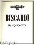 Okładka: Biscardi Chester, Piano Sonata