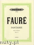 Okładka: Fauré Gabriel, Fantasy Op. 79 for Flute and Piano