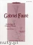 Ok�adka: Faur� Gabriel, Anthology of Original Pieces for Violin and Piano