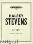 Okładka: Stevens Halsey, Suite for Clarinet and Piano