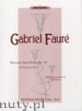 Ok�adka: Faur� Gabriel, Berceuse from Dolly for Violin and Piano, Op. 56