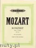 Okładka: Mozart Wolfgang Amadeusz, Flute Concerto No. 2 in D, with Cadenzas K. 314 (Fl-Pf)