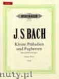 Okładka: Bach Johann Sebastian, 24 Short Preludes and Fugues for Piano