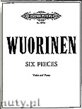 Okładka: Wuorinen Charles, Six Pieces for Violin and Piano