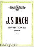 Ok�adka: Bach Johann Sebastian, Inventions & Sinfonias (2 & 3-part Inventions) BWV 772-801 (Pf)