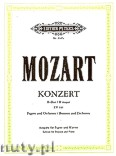 Okładka: Mozart Wolfgang Amadeusz, Konzert B-dur KV 191